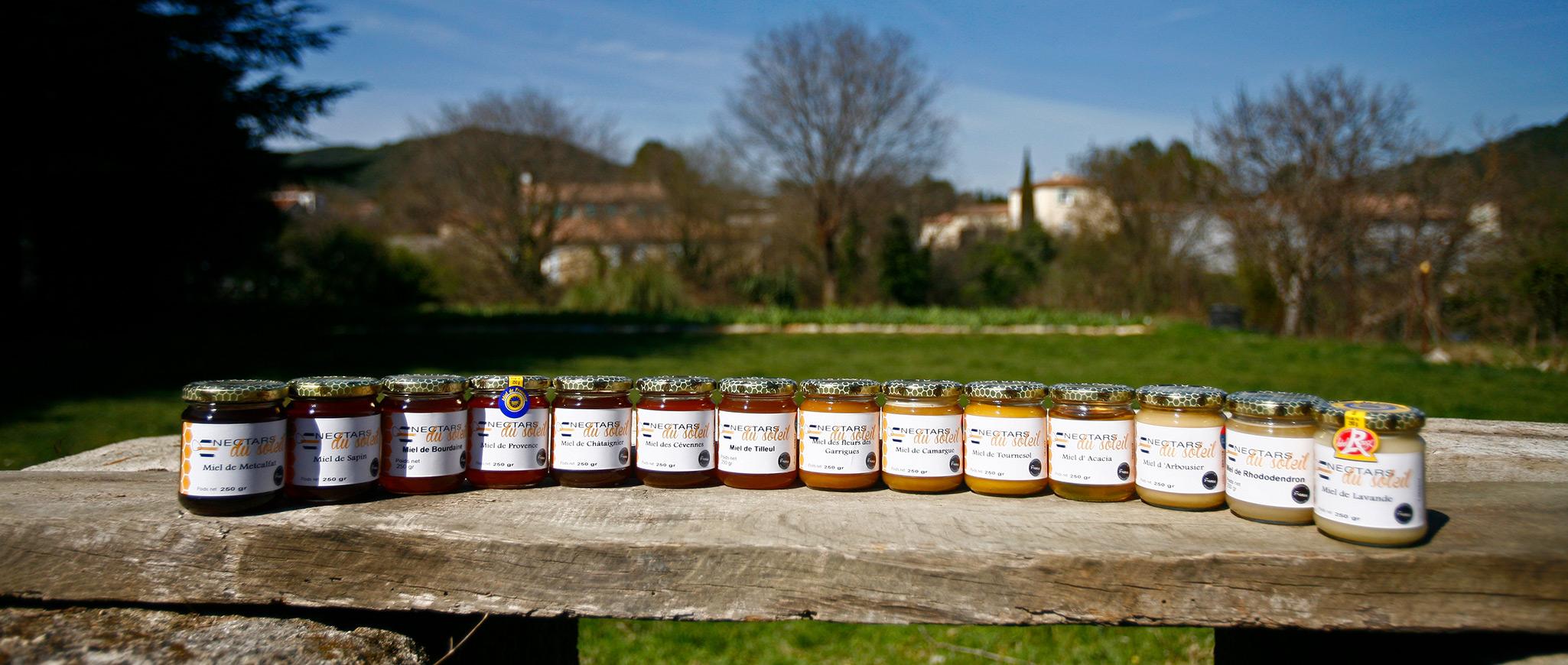 Nectars du soleil nos miels